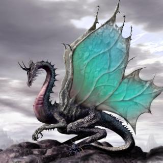 Green Dragon - Obrázkek zdarma pro 128x128