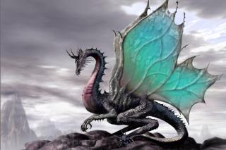 Green Dragon - Obrázkek zdarma pro Nokia Asha 302