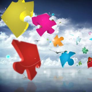 Colorful Puzzle - Obrázkek zdarma pro 2048x2048