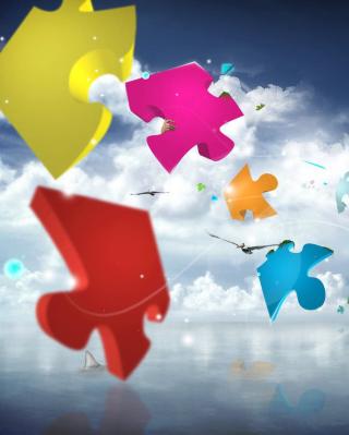 Colorful Puzzle - Obrázkek zdarma pro Nokia C5-05