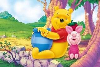 Winnie Pooh Background for Android, iPhone and iPad