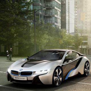 BMW i8 - Obrázkek zdarma pro iPad 3