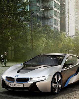 BMW i8 - Obrázkek zdarma pro 176x220