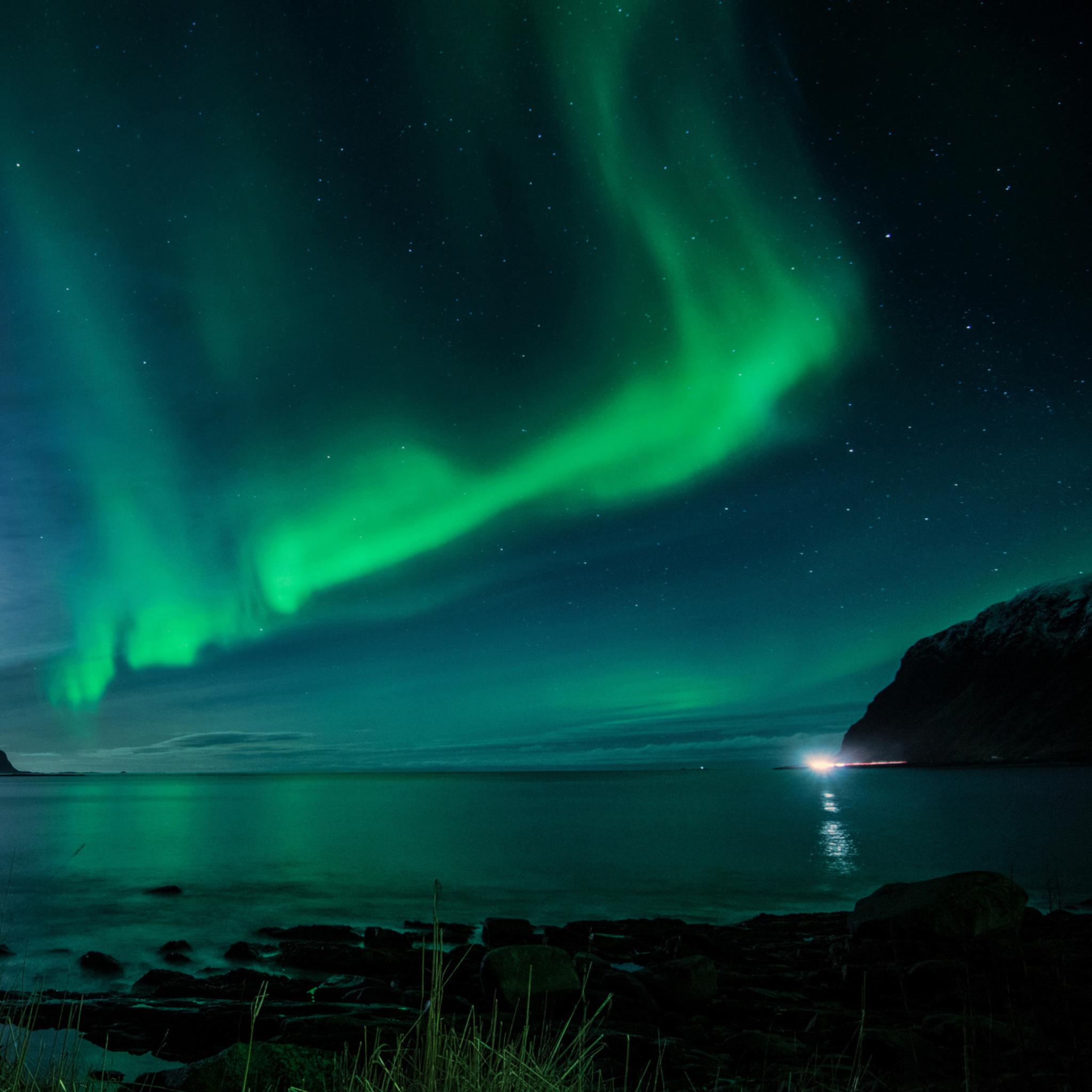 Northern Lights Wallpaper Ipad Iceland Northern Light...
