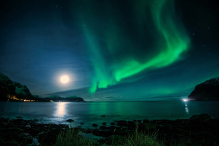 Iceland Northern Lights Picture for Android, iPhone and iPad