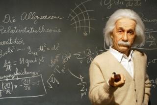 Albert Einstein Picture for Widescreen Desktop PC 1920x1080 Full HD