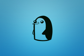 Adventure Time - Penguin Background for Android, iPhone and iPad