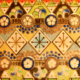 Antique Christmas Ornaments - Obrázkek zdarma pro 128x128