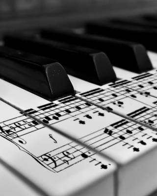 Piano - Obrázkek zdarma pro 128x160