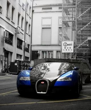 Bugatti Veyron Grand Sport - Obrázkek zdarma pro 480x800