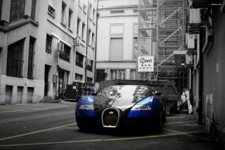 Bugatti Veyron Grand Sport - Obrázkek zdarma pro Motorola DROID