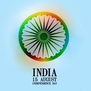 India Independence Day 15 August - Obrázkek zdarma pro 208x208