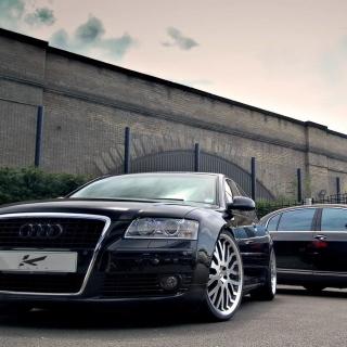 Audi A8 and Bentley, One Platform - Obrázkek zdarma pro iPad Air