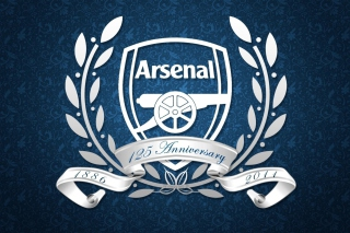 Arsenal Anniversary Logo Picture for Android, iPhone and iPad