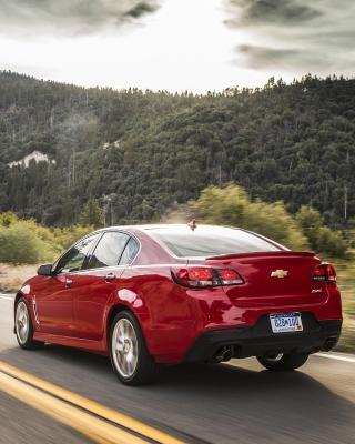 Chevrolet SS 2016 - Obrázkek zdarma pro iPhone 5S