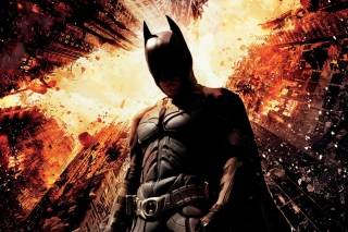 Free Christian Bale Dark Knight Rises Picture for Android, iPhone and iPad