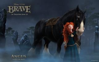 Brave Cartoon - Obrázkek zdarma pro Fullscreen 1152x864