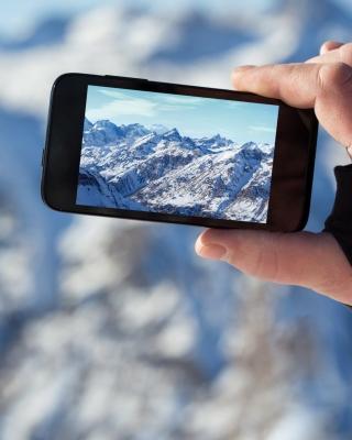 Glaciers photo on phone - Obrázkek zdarma pro Nokia Lumia 505