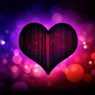 Neon Heart - Obrázkek zdarma pro iPad 3