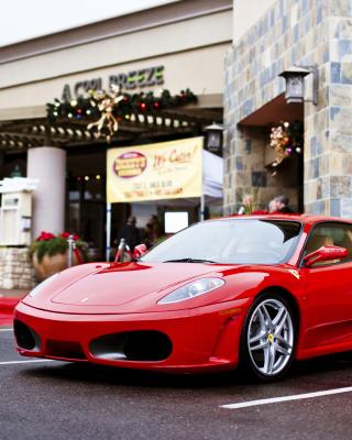 Ferrari F430 in City - Obrázkek zdarma pro Nokia Asha 501