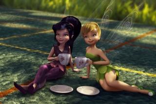 Tinker Bell And The Great Fairy Rescue - Obrázkek zdarma pro Nokia Asha 200