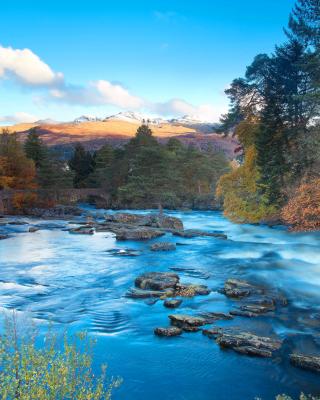 Landscape of mountain river - Obrázkek zdarma pro Nokia C2-00