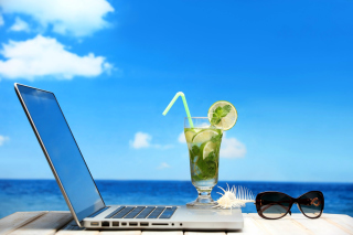 Free Best Office on the Beach Picture for Android, iPhone and iPad