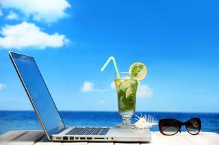 Best Office on the Beach - Obrázkek zdarma pro Sony Xperia Tablet Z