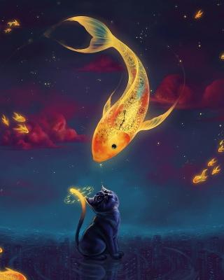 Cats Fantasy - Obrázkek zdarma pro Nokia X2