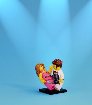 Dance With Me Lego - Obrázkek zdarma pro Nokia Lumia 625