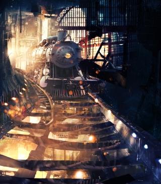 Tunnel Train - Obrázkek zdarma pro Nokia X7