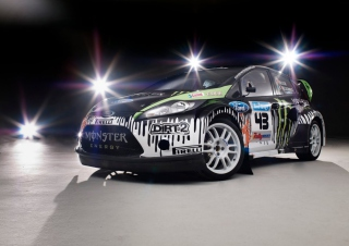 Ken Block Subaru Background for Android, iPhone and iPad