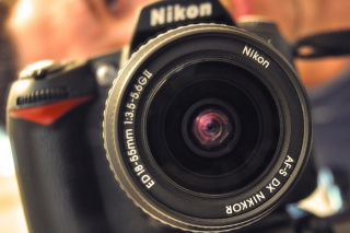 Nikon D90 Wallpaper for Android, iPhone and iPad