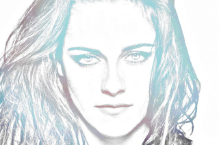 Free Kristen Stewart Artistic Portrait Picture for Android, iPhone and iPad