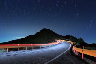 Free Traffic with long Shutter speed Picture for Android, iPhone and iPad