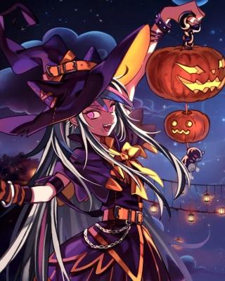 Halloween Anime - Obrázkek zdarma pro Nokia 206 Asha