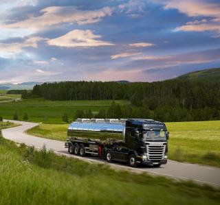 Scania R-Series - Obrázkek zdarma pro iPad Air