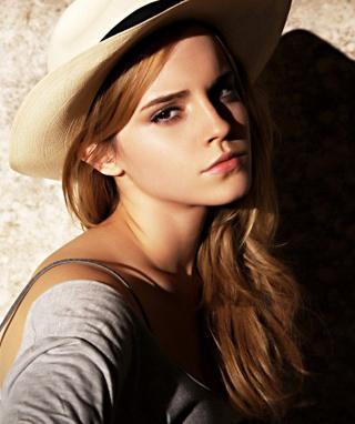 Cute Emma Watson - Obrázkek zdarma pro Nokia C-Series