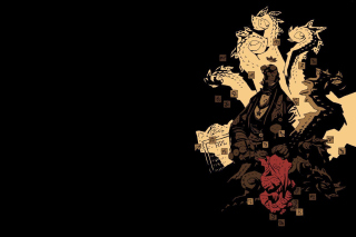 Hellboy The First 20 Years Background for Android, iPhone and iPad
