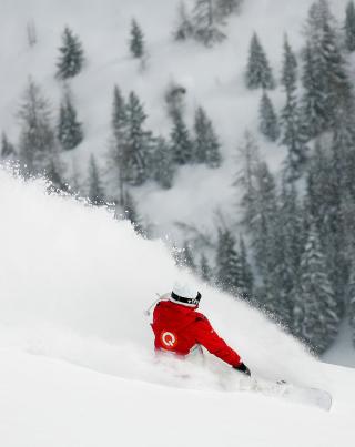Winter Olympics Snowboarder - Obrázkek zdarma pro iPhone 4