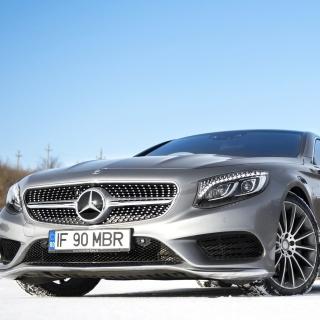 Mercedes Benz S65 Coupe - Obrázkek zdarma pro iPad mini