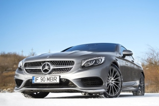 Mercedes Benz S65 Coupe Background for Android, iPhone and iPad