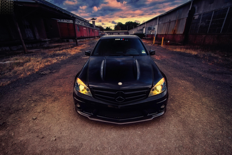Mercedes black  № 1615432  скачать