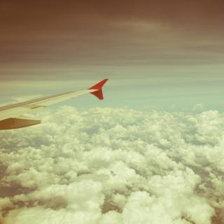 Airplane wing - Obrázkek zdarma pro 320x320