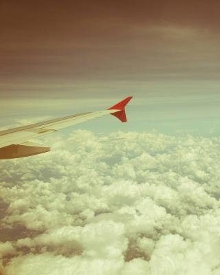 Airplane wing - Obrázkek zdarma pro 640x1136