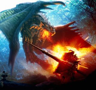 Monster Hunter - Obrázkek zdarma pro 128x128