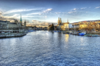 Switzerland - Zurich Wallpaper for Android, iPhone and iPad