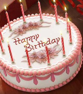 Happy Birthday Cake - Obrázkek zdarma pro Nokia 5800 XpressMusic