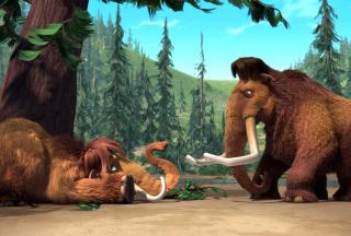 Ice Age Mammals - Obrázkek zdarma pro 480x400