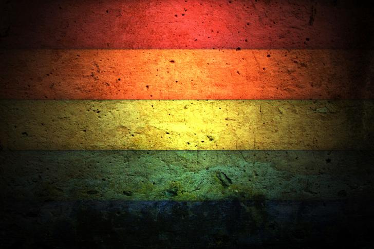 Bright even strips wallpaper